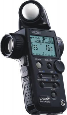 Sekonic L-758DR er den lysmåler jeg selv bruger