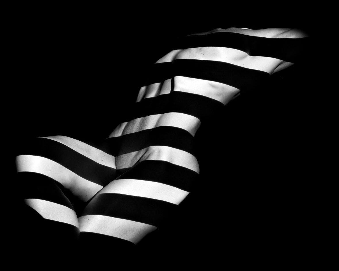 Eksempel på et billede fra det kunstfotografiske projekt: Skygge og Lys