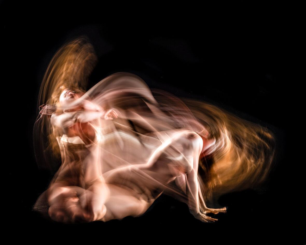 Eksempel på et billede fra det kunstfotografiske projekt: Moved